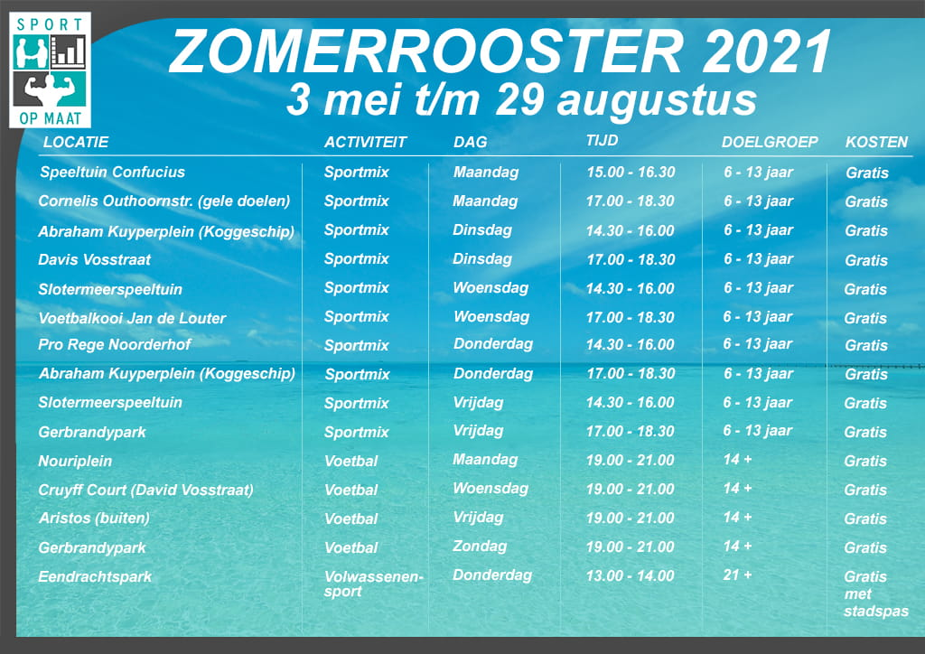 Zomerrooster 2021